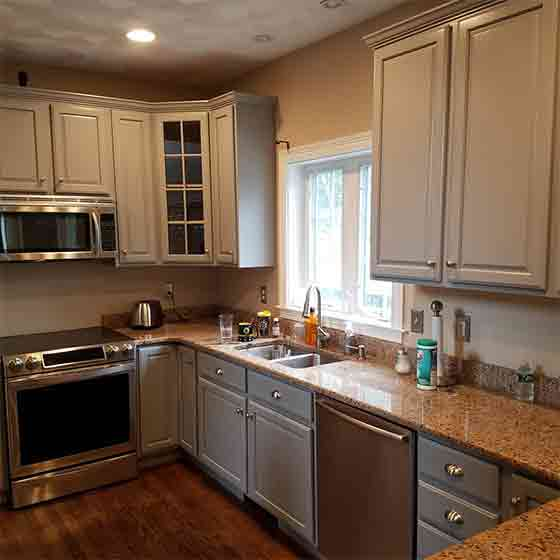 How To Refinish Kitchen Cabinets Yourself: Finish Masters Builders, Corp