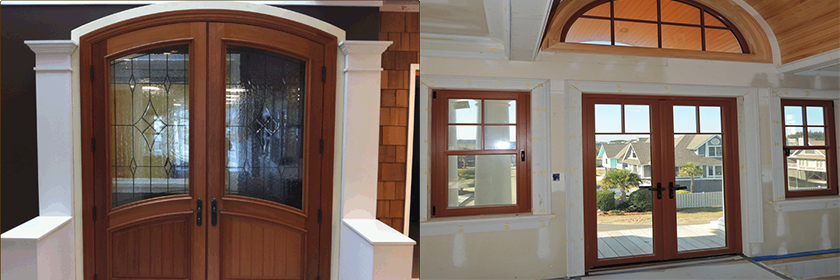 New Construction and Replacement Doors in Pinehurst MA & NH