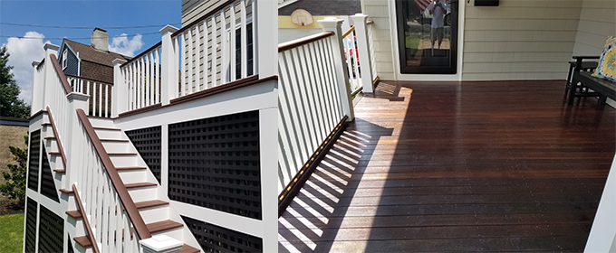 Weston Deck repairs, building and restoration in MA & NH