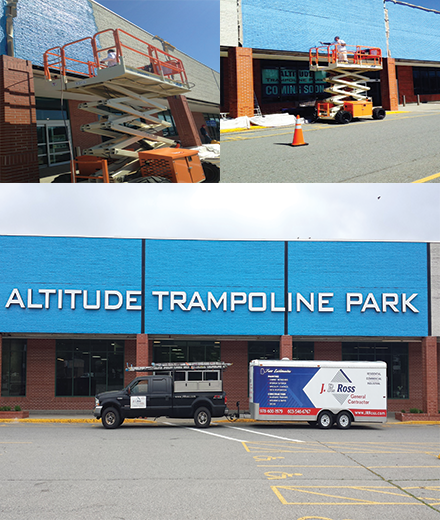 Burlington Commercial painting contractors in MA and NH