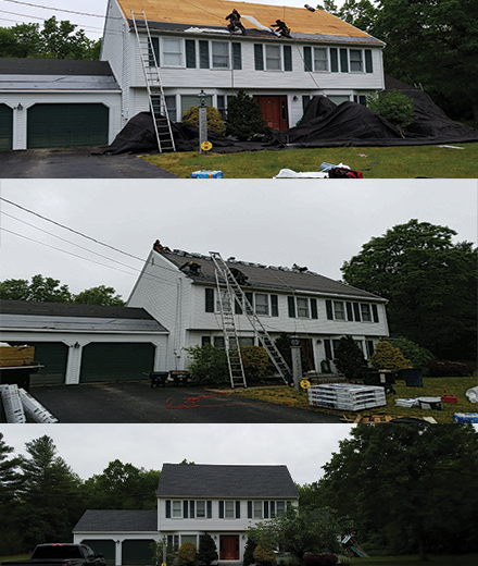 Burlington roofing contractors serving MA and NH