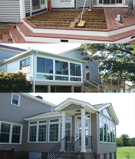 Burlington Deck builders deck repair contractors in MA & NH