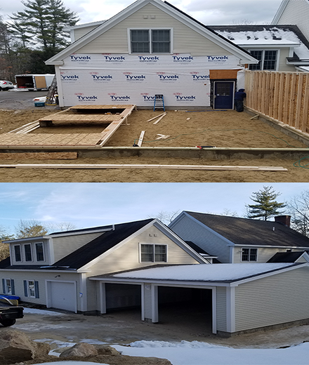 Burlington New construction, building and remodeling services in MA & NH