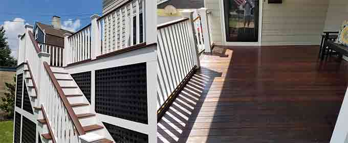 Deck repairs, building and restoration in MA & NH